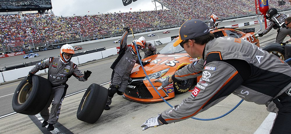12-14 June, 2015, Brooklyn, Michigan USA Carl Edwards, Arris Toyota Camry ©2015, Matthew T. Thacker NKP